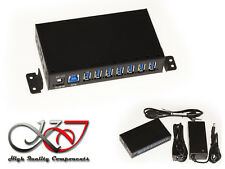 Hub Industrial/Charging Station USB 3.0 - 7 Ports - Alim 3A