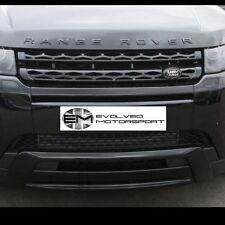 RANGE ROVER EVOQUE Gloss Black Range Rover Lettering UPGRADE KIT ANTERIORE + POSTERIORE e6
