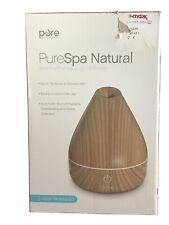 PureSpa Oil Diffuser Natural Aromatherapy Oil Diffuser with Color-Changing Light