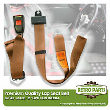 Adjustable 2 Point Lap Seat Belt for Renault Rodeo 4. Safety Strap In Beige
