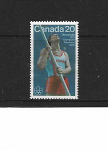 1976 Canada - Montreal Olympics - Single Stamp - Mint and Never Hinged.