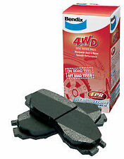Rear Disc Brake Pads for Jeep Wranger JK 3/2007-2012 Bendix 4x4 2.8 TD+ 3.8 V6