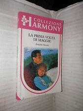 LA PRIMA VOLTA DI MAGGIE Jeanne Allan Harlequin Mondadori 1990 Harmony romanzo