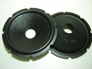 """Pair 8"""" Paper Cones - Speaker Parts - 337-554"""