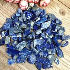 100% NATURAL BLUE LAPIS LAZULI CRYSTAL Lots Rough/Specimen NICE 50g
