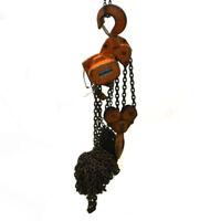 10 Ton Ingersoll Rand Roughneck 20 Foot Lift Chain Manual Fall Chain Hoist
