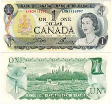 Canada $1 P#85c (1973) Banque du Canada AUNC