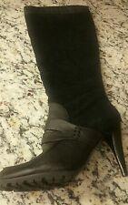 Pilar Abril Black Boots