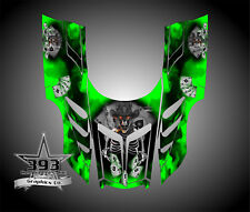Arctic Cat ZR, ZL, Powder Special 1998 - 1999 Graphics Decal Wrap Outlaw Green
