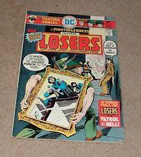 1976 DC The LOSERS No. 164 Feb.