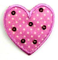 Applikation zum Aufbügeln Bügelbild  1-503   Herz