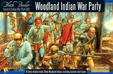 Warlord Games Woodland Indian War Party Box Set 28mm Scale WG7-FIW-01