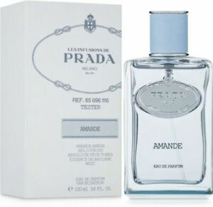 Prada Les Infusions d' Amande Eau de Parfum Spray 3.4 oz | 100 ml New Tester