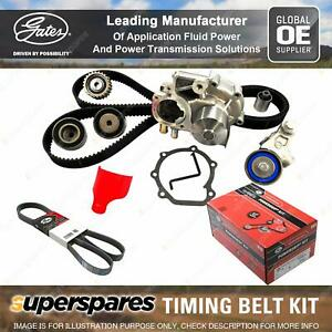 Gates Timing Belt Kit for Mitsubishi Pajero V77W 3.8L 150KW 3828CC Petrol 6G75