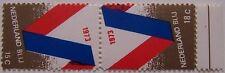 Nederland 1973  stadspost Nederland blij  keerdruk  tete-beche  postfris/mnh
