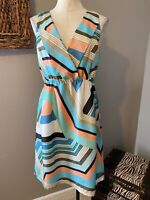 Tommy Bahama Silk Dress Medium 6 8 10
