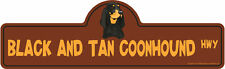 Black And Tan Coonhound Dog Decal | Dog Lover D�cor Vinyl Sticker