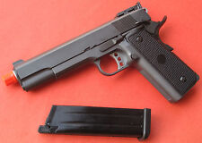 Full Metal Gas Blow Back Airsoft Gun 1911 Gun Metal Color Shoot up to 360 FPS