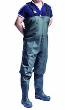 100 Sonic Seam Waterproof PVC Chest Waders Fly Coarse Fishing Muck Wader BOOTS 9 (43)