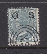 N.S.W. : 1/2d Grey Sg O58a Perf 11X12 Fine Used