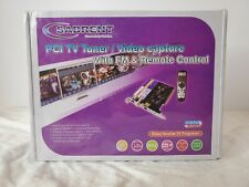 Sabrent SBT-TVFM TV Tuner Video Capture FM Radio PCI Card. New in Box. Sealed!
