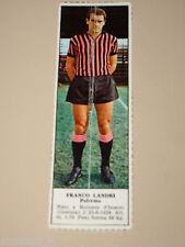 *+ franco landri PALERMO=FIGURINA=1966/67=ALBUM FIGURINE CALCIATORI TEMPO