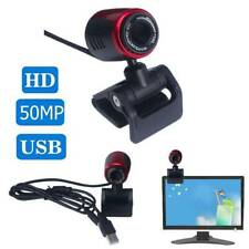10MP USB2.0 HD Webcam Camera Web Cam With Mic For Computer PC Laptop Desktop RED