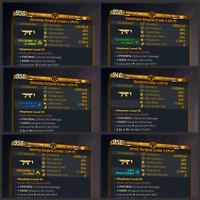 Borderlands 3 | Crader's EM-P5  | ALL Elements | LVL 60 | Modded | XBOX / PS4