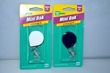 2 Badge Holders Mini Bak By Lucky Line Products Sealed Pack