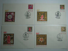 5 Envelopes 25th Anniversary of Victory of Soviet People in World War II 1970