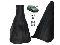 Gear & Handbrake Gaiter For Opel Vauxhall Corsa C Leather Blue Stitching