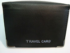 Soft leather Travel Pass Oyster Credit Card Holder Wallet