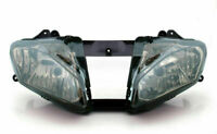 LED Gruppo ottico faro anteriore bosatta Per Yamaha YZF 600 R6 2008-2012 Fumo
