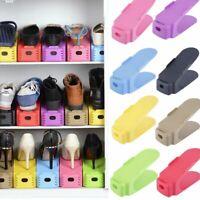 Adjustab Shoe Racks Storage Double Shoes Rack Convenient Shoe Stand Organizer