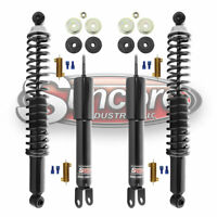2005-2009 Chevy Uplander FWD Rear Air Suspension to Gas Shocks Conversion Kit