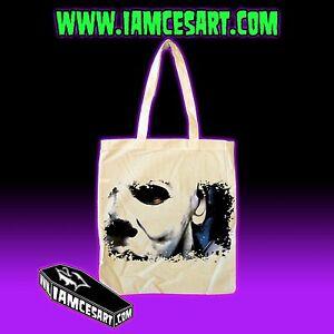 Michael Myers Tote Bag Movie Halloween Horror Scray Evil October iamcesart