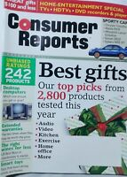 Consumer Reports December 2003 Best Gifts