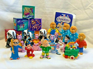 Mixed Disney PVC Plastic Toy Lot Cake Toppers Party Figures Lion King Figment