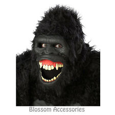 A120 Going Ape Gorilla Ani-Motion Adult Mask Halloween Fancy Costume Accessories