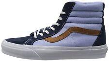 NEW Vans SK8-HI REISSUE CA (C&P) Dress Blues Men's Skate Shoes Size 7.5 US PLAID