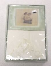 New set of 10 WILLOW TREE NEW LIFE Blank Announcement Cards w/ Envelopes DEMDACO