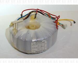 Torroidal Transformer 120 VAC, 120 VAC To 136 VCT 5.45 A, 36 VCT 0.25 A