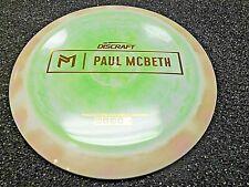 Rare Discraft Proto Esp Kong Paul Mcbeth Disc Golf Driver Prototype Grnntan 171G