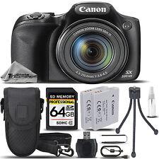 Canon PowerShot SX530 HS 16MP 50x Optical Zoom Wi-Fi/NFCDigital Camera -64GB KIT