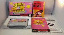 Kirby's Fun Pack SNES (Super Nintendo Entertainment System) Rare boxed