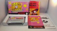 Kirby's Fun Pack SNES (Super Nintendo Entertainment System) Raro in Scatola