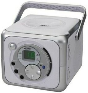 Jensen CD-555 Portable Bluetooth Stereo Music System with CD Player -