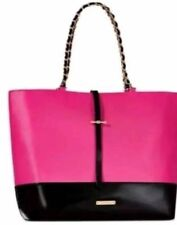 Juicy Couture Glam Weekender, Tote Bag - Black Patent Leather, Gold Accents, NWT