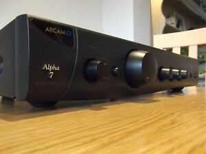 ARCAM ALPHA 7 PRE/ INTEGRATED AMPLIFIER 40 WPC VGC GWO