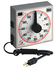GraLab 171 Dual Scale Timer, 8 Dial. 60-Minute Range by Minutes & Seconds